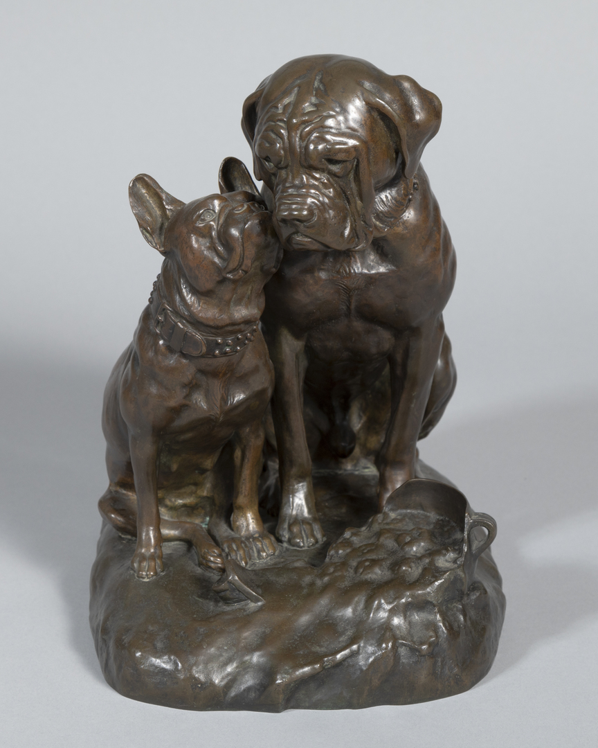 Mastiff with French Bulldog