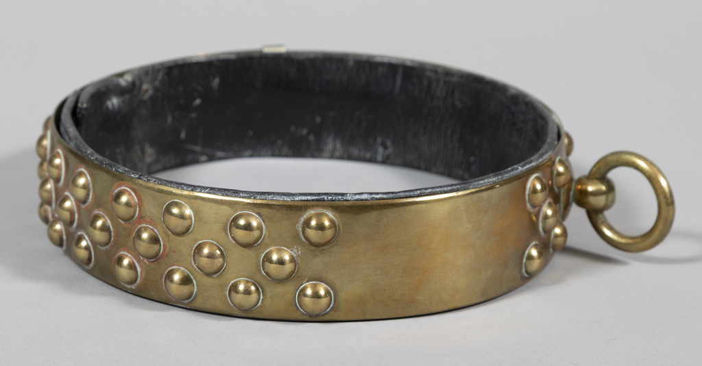 Collar with Round Studs