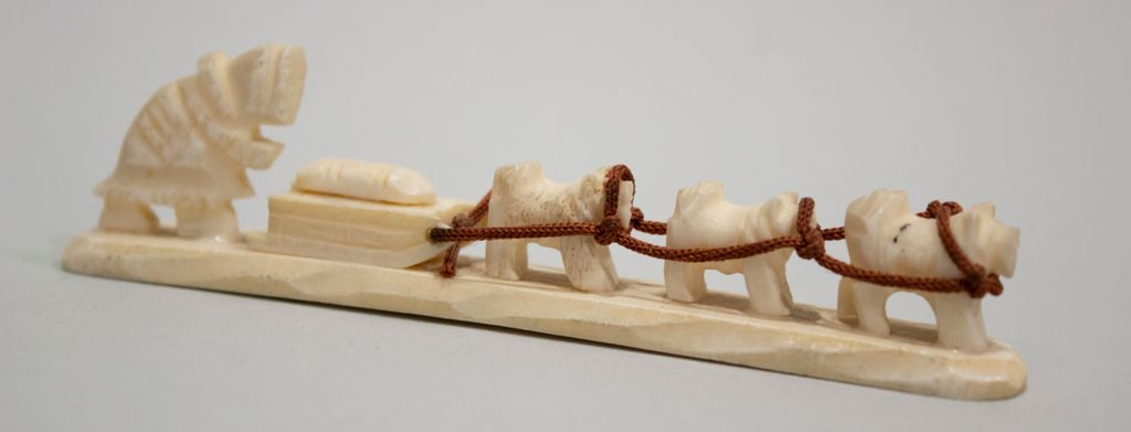 Dog Sled and Dogs