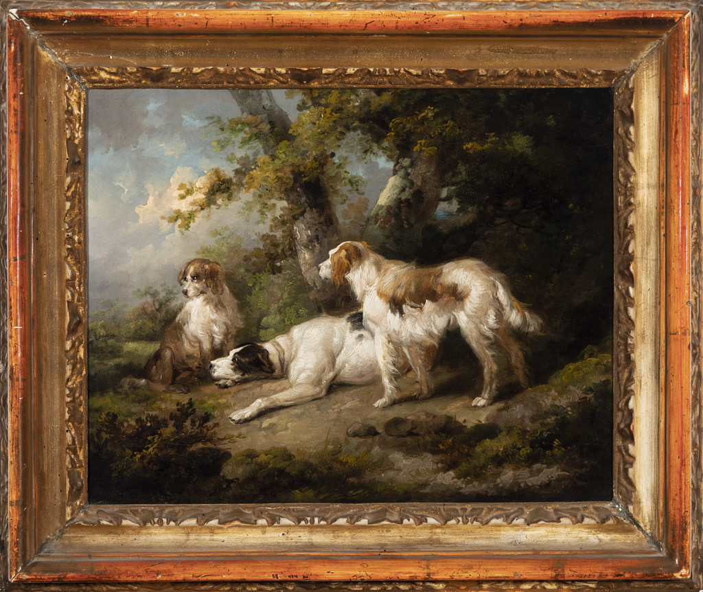 Dogs in a Landscape