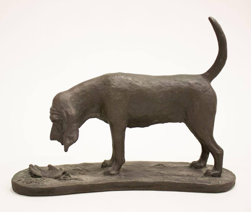 Bloodhound standing- hand