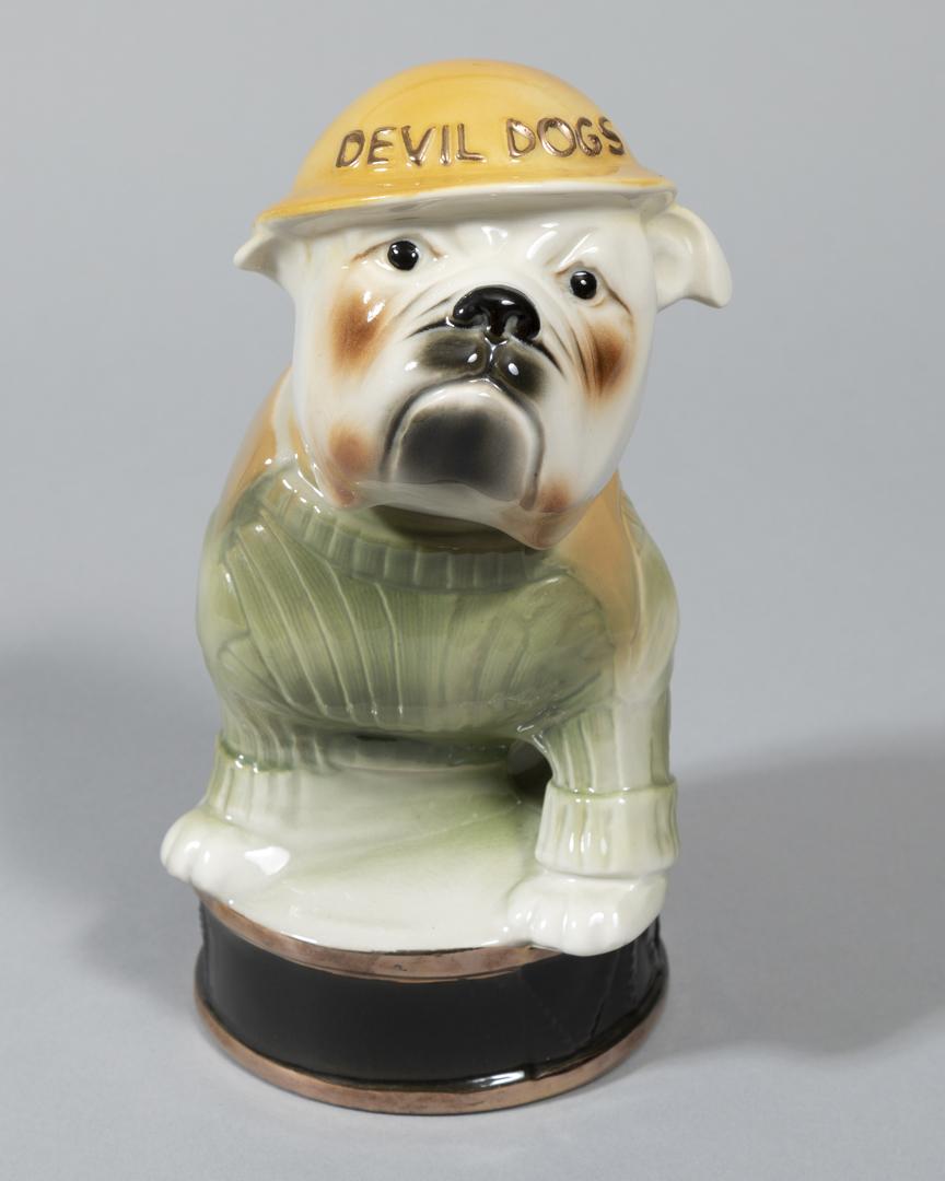 Devil Dogs Liquor Bottle