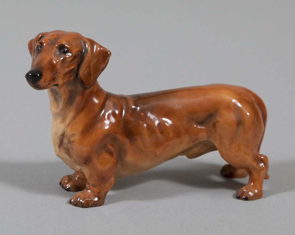Dachshund- sm, red