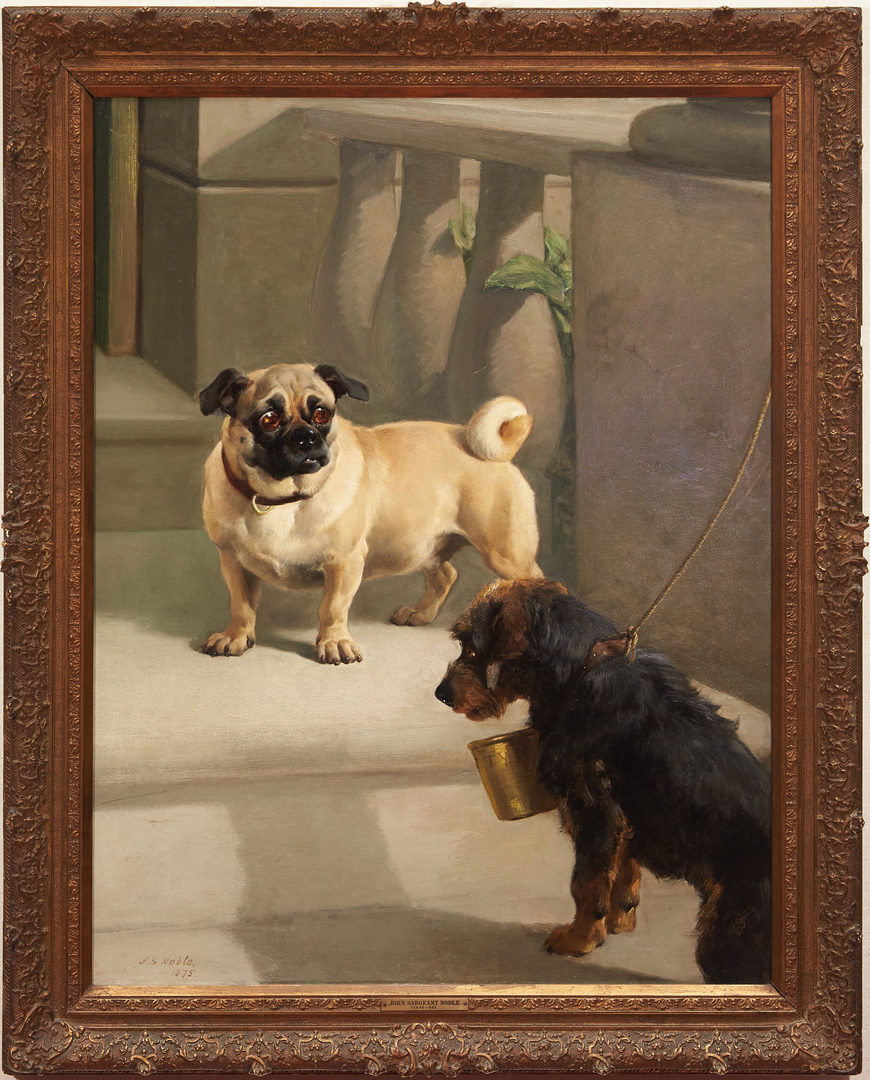 Pug and Terrier