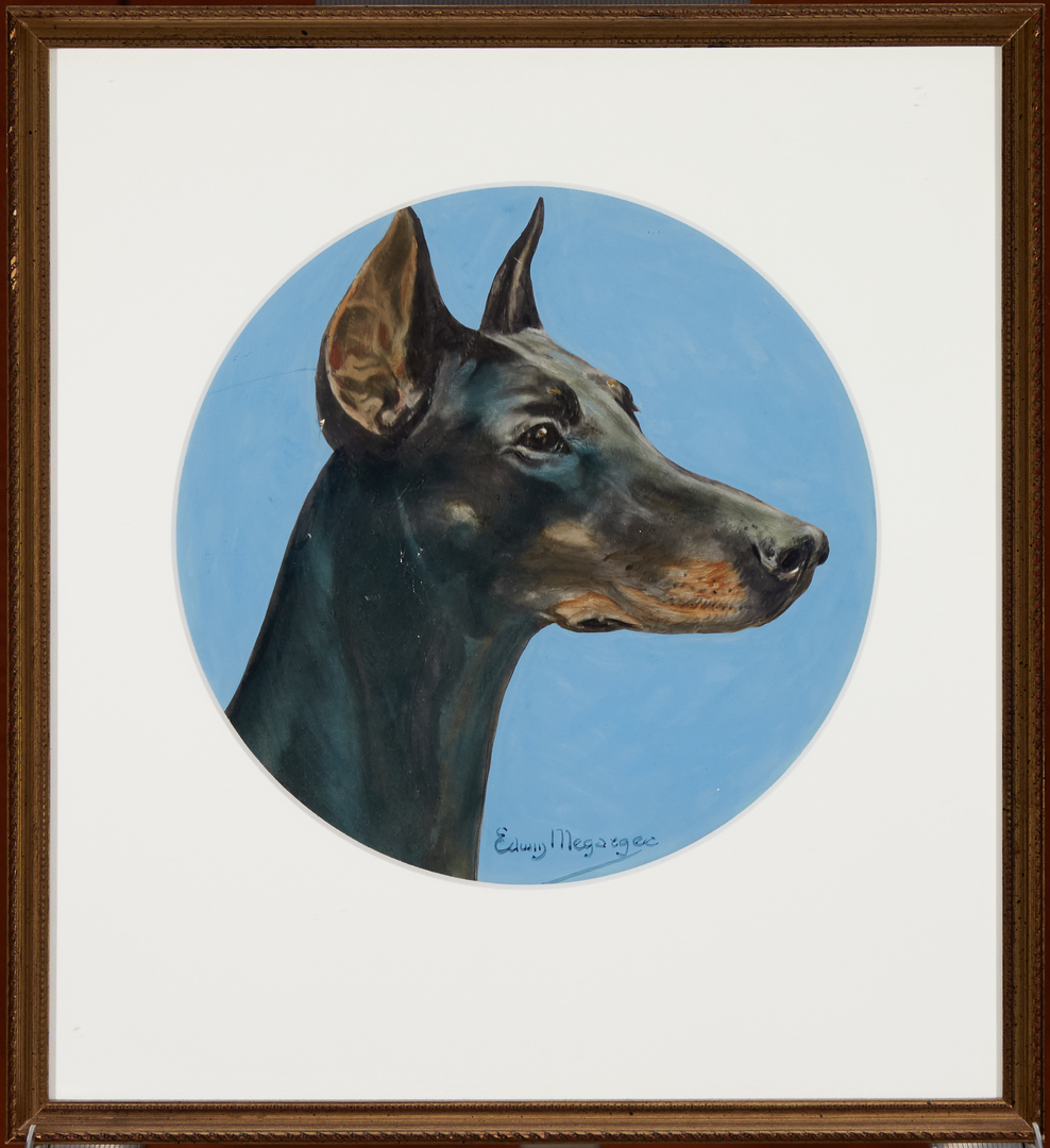 Portraits of dogs