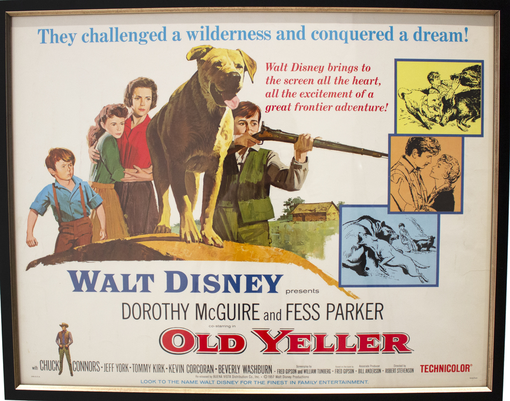 "Small ""Old Yeller"" Poster"