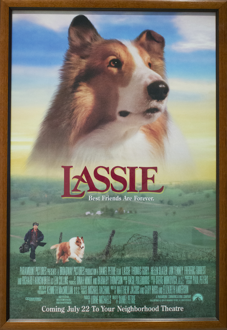 """""""Lassie: Best Friends are Forever"""" Poster"""