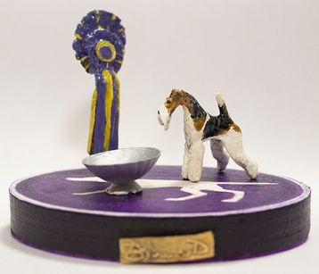 """""""KING"""", GCh. Kingarthur Best in Show at the 143rd  Westminster Kennel Club Dog"""