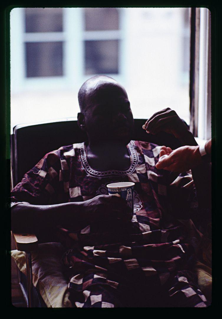 Lyle Ashton Harris, Marlon Taking Pills (with Jack Vincent), Oakland, California, 1994-2019.jpg