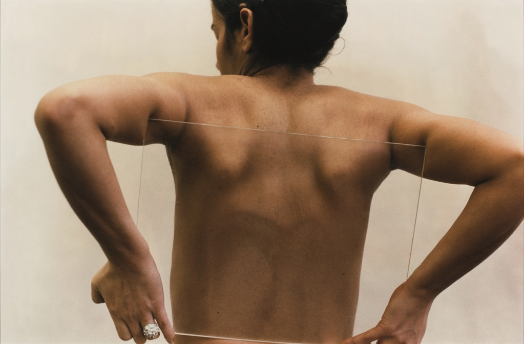 1 Ana Mendieta, Untitled (Glass on Body), 1972.