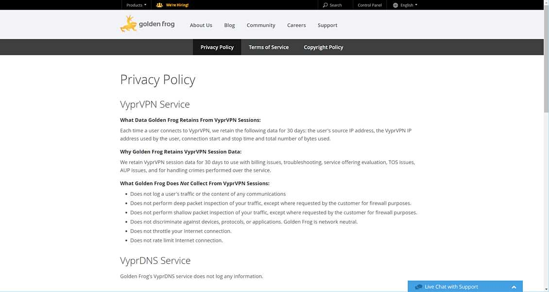 Vyprvpn Review Privacy Policy Logging