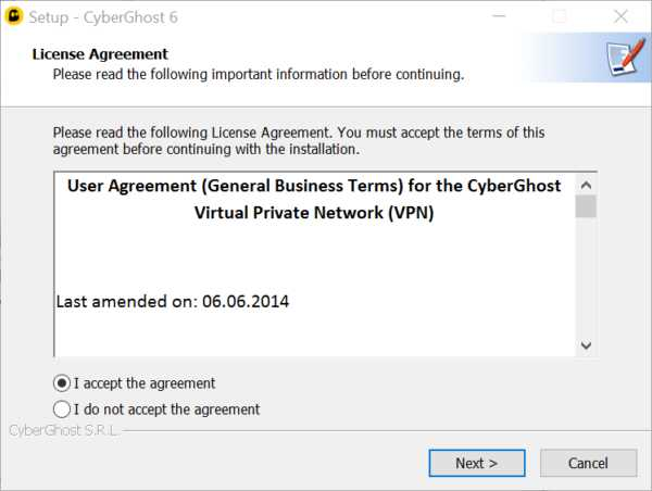 Cyberghost Vpn Review Install Process 1