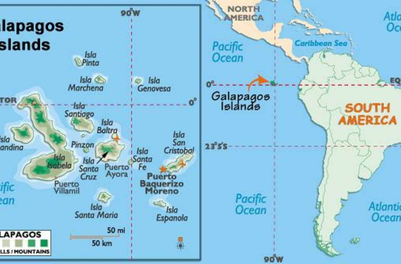 Experience Galapagos Islands in Virtual Reality on guatemala on map, amazon river on map, madeira islands on map, jamaica on map, greater antilles on map, paraguay on map, arctic circle on map, tierra del fuego on map, ogasawara islands on map, brazilian highlands on map, barbados islands on map, south america on map, japan islands on map, andes mountains on map, hawaiian islands on map, amazon basin on map, chinese rivers on map, arctic islands on map, aleutian islands on map, canada on map,