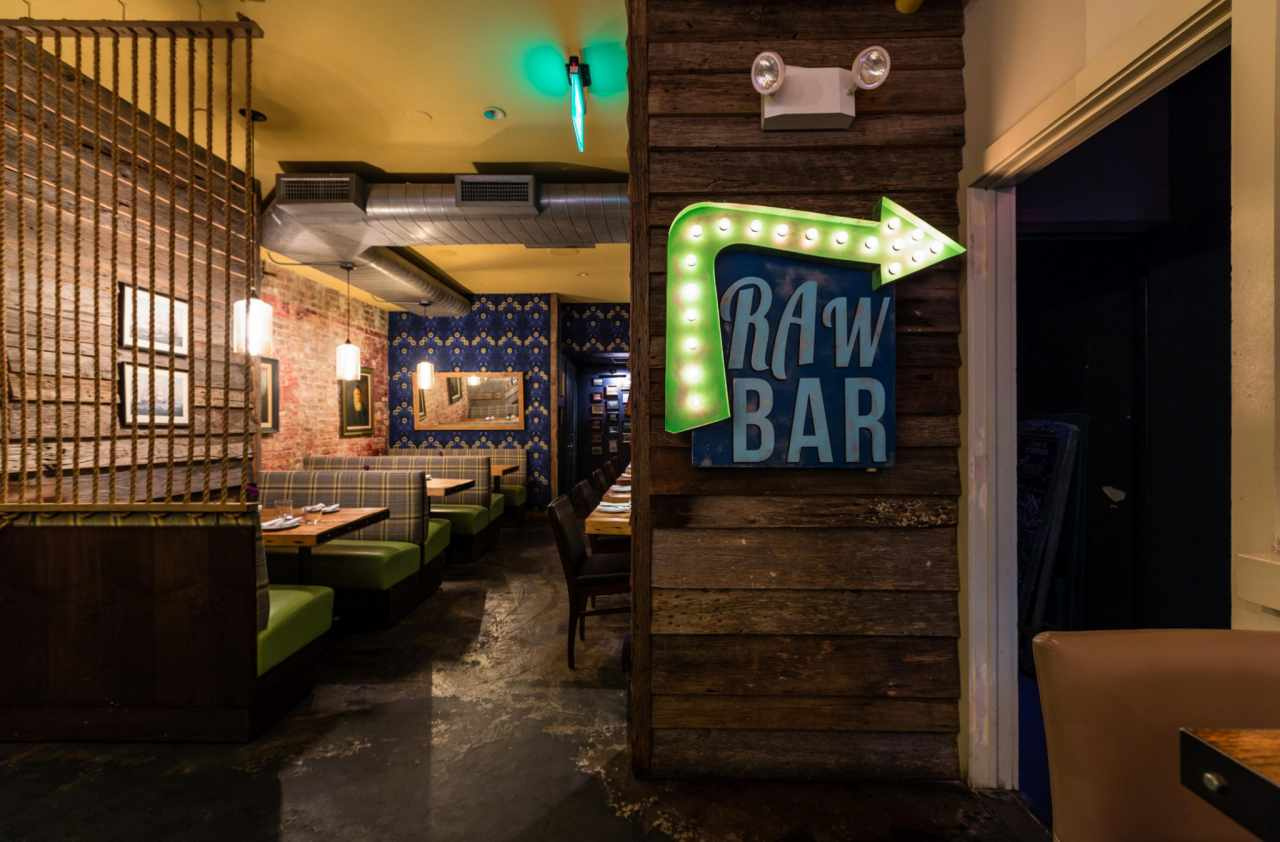 Experience crave fishbar in virtual reality for Crave fish bar