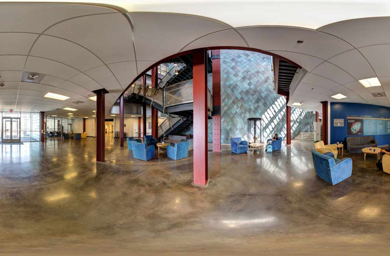 Experience Clarion University Of Pennsylvania In Virtual Reality
